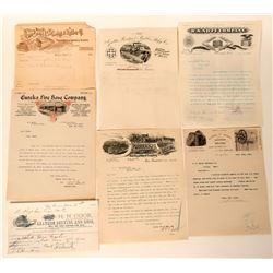 Fire Hose Manufacturing Billheads & Letterheads (8)  (125569)