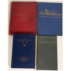 Fire Insurance Company Histories (4 Books)  (125655)