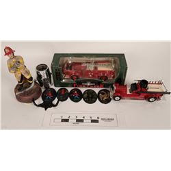 Fire Related Collection Pieces (5)  (125318)