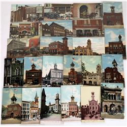 Firehouses of Pennsylvania, Early Color Postcards  (125645)