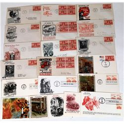 Fire-Related First Day Covers (2)   (125636)