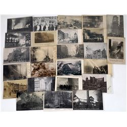 Fires, Identifiable in Early Black & White Postcards  (125644)