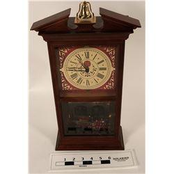 First Official Fireman's Hall Fire Engine Clock  (125328)