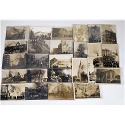 Real Photo Postcards of Identifiable U.S. Fires (25)  (125648)