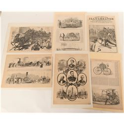 """Woodcut Engraving from """"Frank Leslie's Illustrations"""" (6)  (125560)"""