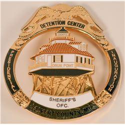 Calvert County Sheriff MD. Badge  (121923)