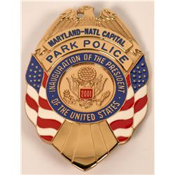 Maryland Capitol Park Police Badge  (121924)