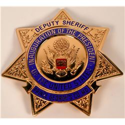Prince George Deputy Sheriff badge  (121826)