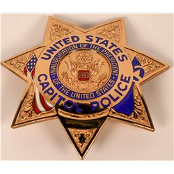 Capitol Police Badge  (121827)