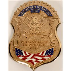 Dept. Of Justice OIG Inaugural Badge  (122085)