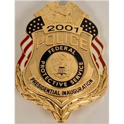 Federal Protective Services Inaugural Badge  (122086)