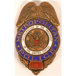 Metro Police Inauguration Badge  (121823)