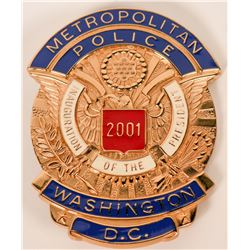 Metro Police Wash. D.C. Badge  (121889)