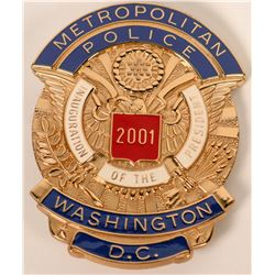 Metropolitan Police Inauguration Badge  (121926)