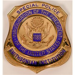 Smithsonian Institution Special Police Badge  (121830)