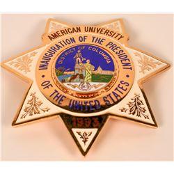 American University Inaugural Badge  (121886)