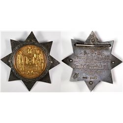 Ancient Order of Druids Badge  (124032)