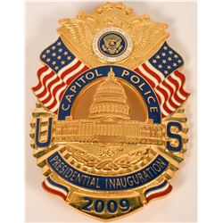 Capitol Police Inauguration Badge  (121888)