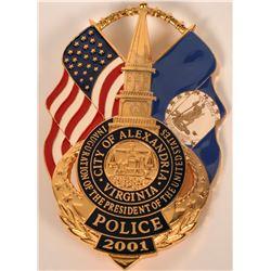 City of Alexandria Inaugural Badge  (121853)