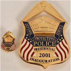 Defense Protective Services  Inaugural Badge  (122082)