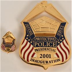 Defense Protective Services  Inaugural Badge  (122082)