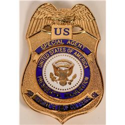 Dept. of Commerce Special Agent Badge  (121891)