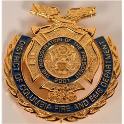 District of Columbia Fire and EMS badge  (121854)