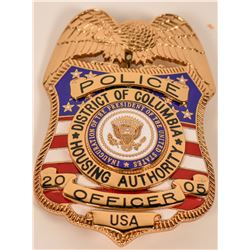 District of Columbia Housing Authority Inaugural Badge  (121900)