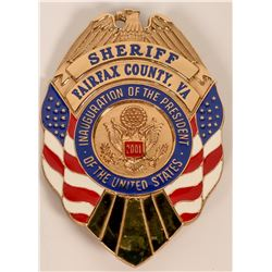 Fairfax County Virginia Sheriff Badge  (121917)