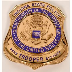 Indiana Stae Police Badge  (121833)