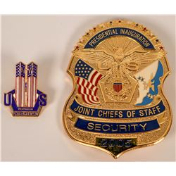 Joint Chiefs of Staff Security Badge  (121902)