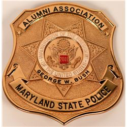 Maryland State Police Inauguration Badge  (121884)