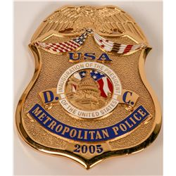 Metro Police  Inauguration Badge  (121893)