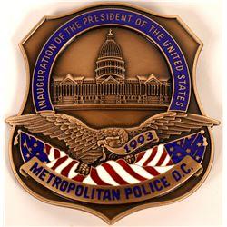 Metro Police D.C. Inaugural Badge  (121885)