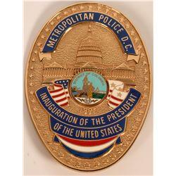 Metro Police Inauguration Badge  (121915)