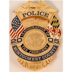 Montgomery County Inauguration Badge  (121907)