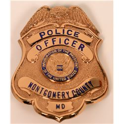 Montgomery County Police badge  (121844)