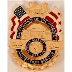 National Gallery of Art Protection Service Badge   (121859)
