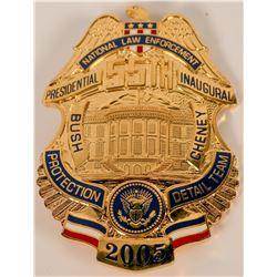 National Law Enforcement Inaugural Badge  (121904)
