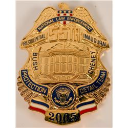 National Law Enforcement Inaugural Badge  (121904)