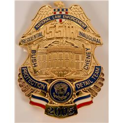 National Law Enforcement Inaugural Badge  (121906)