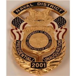 Naval District Police Badge  (121843)