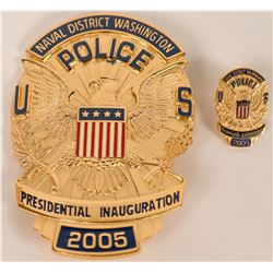 Naval District Police Inaugural Badge  (121903)
