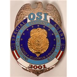 OSI Special Agent  Inaugural badge   (121847)