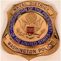 Presidential Inauguration Badge - 1989  (121838)