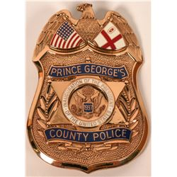 Prince George County Police badge  (121851)