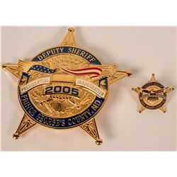 Prince George's County Inaugural Badge  (121898)