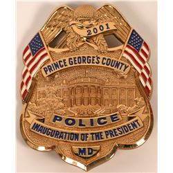 Prince George's County Inauguration Badge  (121921)