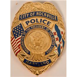 Rockville Police Badge  (121895)