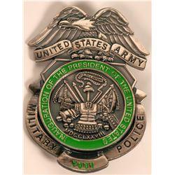 U.S. Army MP Inaugural badge  (121856)